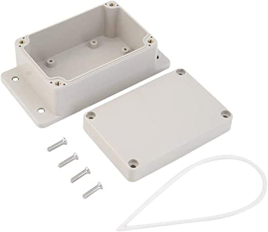 Caja impermeable de plástico para proyectos electrónicos 100 x 68 x 50 mm Caja del gabinete Caja para instrumentos de caja de bricolaje - Blanco: Amazon.es: Iluminación