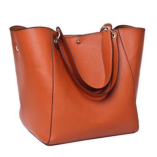 for Handbags Shoulder Bag Set Tote Bag Purses Large Bageek PU 2Pcs Women Bag Hobo Leather with Clutch FHqwUxntq