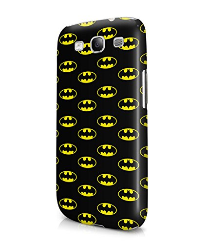 The Batman Logo Pattern Plastic Snap-On Case Cover Shell For Samsung Galaxy S3