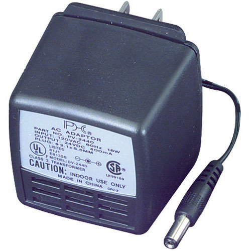 Parts Express 24 VDC 600mA AC Adapter