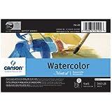Canson Montval Watercolor Paper 140 lb. cold press 4 in. x 6 in. block of 15