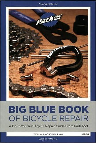 Big blue book of bicycle repair a do it yourself repair guide from big blue book of bicycle repair a do it yourself repair guide from park tool amazon calvin c jones 9780976553007 books solutioingenieria Image collections
