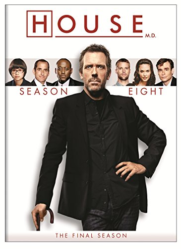 DVD : House: Season Eight (Boxed Set, Snap Case, Repackaged, 5 Disc)