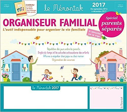 Organiseur familial Mémoniak spécial Parents séparés 2016-2017 pdf ebook