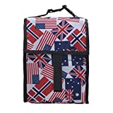 Lunch Bags Nsulated Lunch Cooler Foldable For Men Women & Kids Eddy Travel Zipper Box