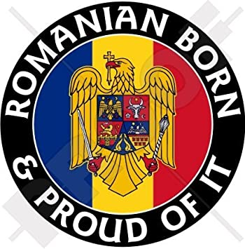 ROMANIAN TRANSPARENT KEY STICKER YELLOW