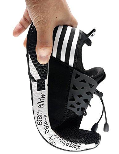 Cordones Gimnasio Running A17 negro Zapatillas Zapatillas T Hombre Deportivas en Zapatillas Hombre de IIIIS Hombre ag71vqa