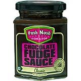 Posh Nosh Chocolate Fudge Sauce 295 gm (Classic Flavour)