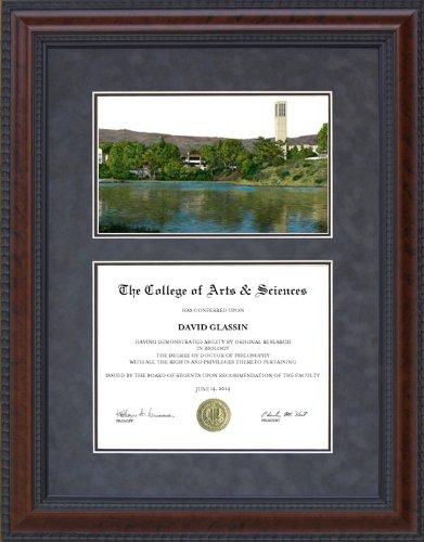 Amazon.com : Diploma Frame with Licensed UC Santa Barbara (UCSB ...