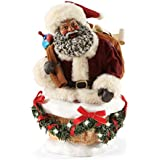 Department 56 Possible Dreams 4046903 Christmas Santa's Hurry Down The Chimney Figurine