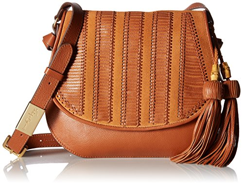 Brown Honey Saddle Charlotte Corinna Foley Bag YZg6xwnXqa