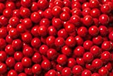 FirstChoiceCandy Sixlets Milk Chocolate Balls (Red, 2 LB)