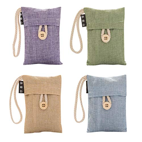 ❤️Jonerytime❤️New - Air Purifying Bamboo Charcoal Bag Handmade Non-Toxic for Car & Room 2019