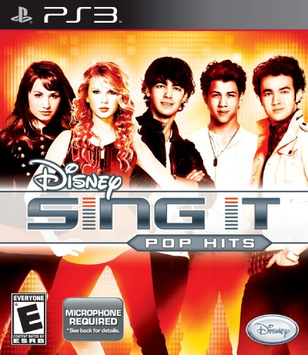 Disney Sing It: Pop Hits - Playstation 3 (Game Only)