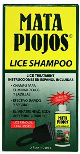 NEW'MATA PIOJOS' HEAD HAIR GENITAL PUBIC BODY LICE CRABS NITS CURE REMEDY TREATMENT SHAMPOO