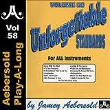 Unforgettable Standards - Volume 58