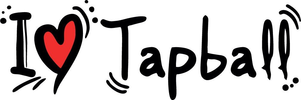 I Love Tapball Set of 2 Home Decal Vinyl Sticker 14'' X 5''