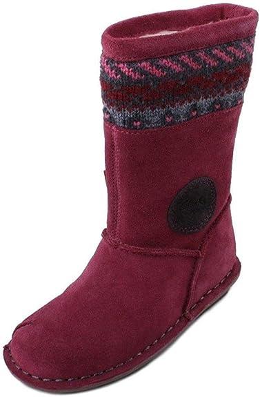 Clarks Girls Boot Snugglehug T Size 8.5