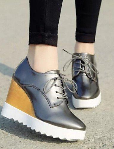 Njx 2016 Damen Schuhe British Keilabsatz Schuhe Schuhe Schuhe alle Match Oxford Casual B01KHBQ4PG Schnürhalbschuhe Sonderangebot d60339
