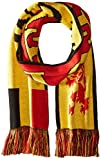 International Soccer Belgium Jacquard Knit Scarf, One Size, Red/Yellow/Black