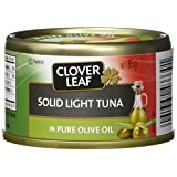 Clover Leaf Solid Light Tuna in Oil, 24 Count