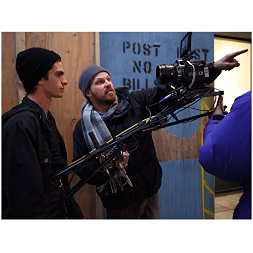 the-amazing-spider-man-andrew-garfield-taking-direction-from-marc-webb-8-x-10-inch-photo