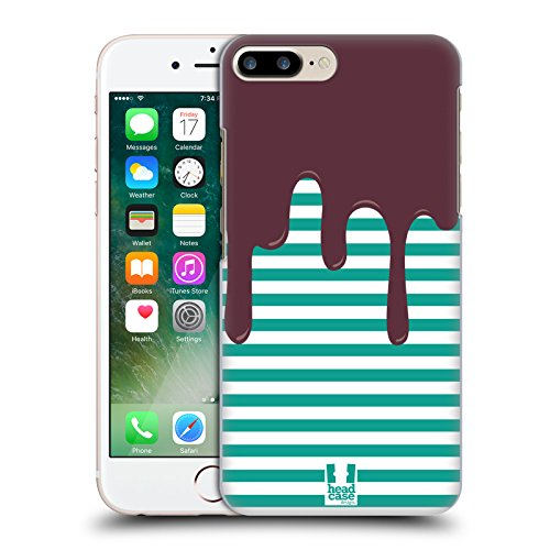 Head Case Designs Striscia Pattern Sciolti Cover Retro Rigida per Apple iPhone 7 Plus / 8 Plus
