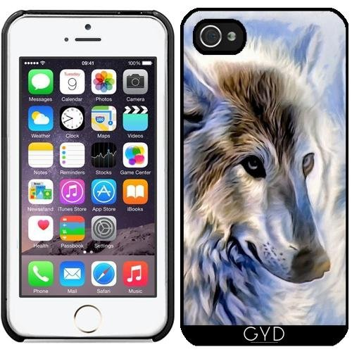 Coque pour Iphone 5/5S - Icewolf Loup Imaginaire by WonderfulDreamPicture