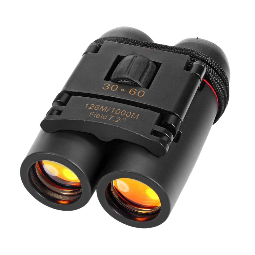 MIJNUX Binoculars High-Definition Vision 30 X 60 Zoom Outdoor Travel Folding Telescope