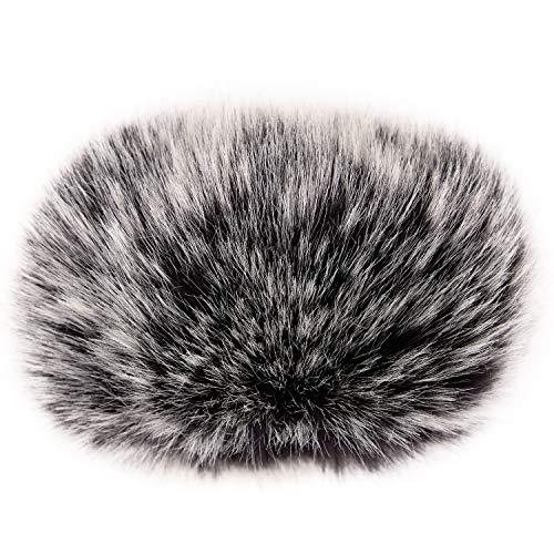 (ChromLives Wind Muff Zoom H1 Windscreen Microphone Outdoor Furry Windscreen 2.5