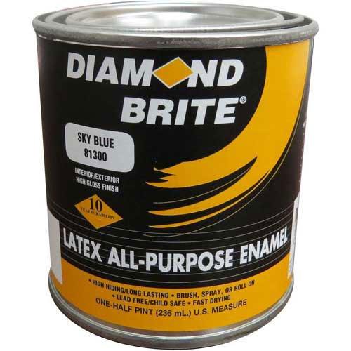 diamond-brite-latex-gloss-enamel-paint-yellow-8-oz-pail-6-case