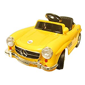 Mercedes-Benz-Kids-Ride-on-Battery-Powered-Car-RC-Childrens-Ride-On-Luxury-Vehicle-Yellow