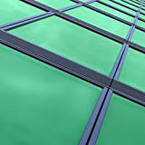 solardiamond Window Films Privacy Film Silver Green Decorative Mirror One Way Heat Control Sun Blocking UV Protection Self-Adhesive Glass Tint Roll for Home & Office | Reflective 40inX15ft