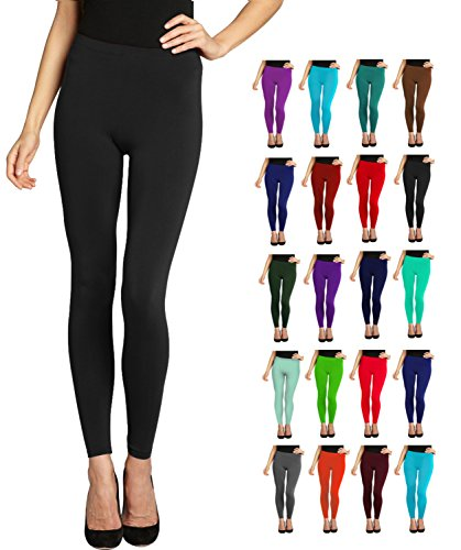 Full Length Leggings - Variety of Colors