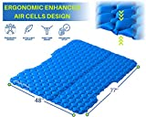 SUITEDNOMAD Double Sleeping Pad for Camping, 2
