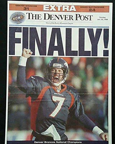 Denver Broncos Newspaper, Broncos Newspaper, Broncos