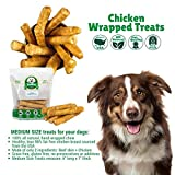 Lucky Premium Treats Chicken Wrapped Rawhide Dog