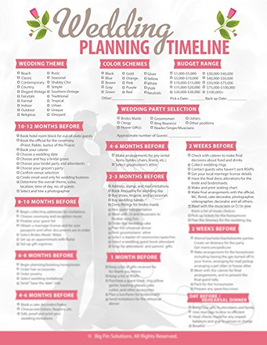 Checklist For Wedding - Complete Wedding Planning Checklist - This Simple Wedding Checklist Is Your Key for Planning the Perfect Wedding - Wedding Planner