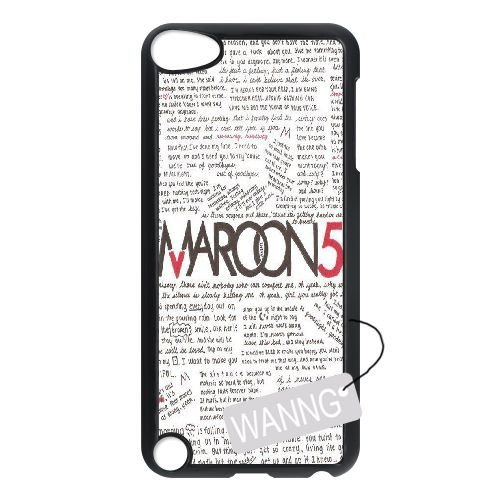 maroon 5 Ipod Touch5 DIY Case, maroon 5 Custom Case for Ipod Touch5 at WANNG