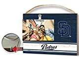 KH Sports Fan Clip It Colored Logo Photo Frame San Diego Padres