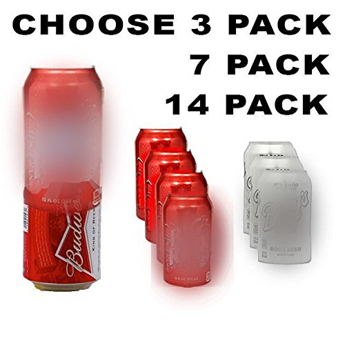 14-Pack-Hide-a-Beer-Can-Soda-Covers-Camo-Wrap-Sleeves-Koozie-Disguise