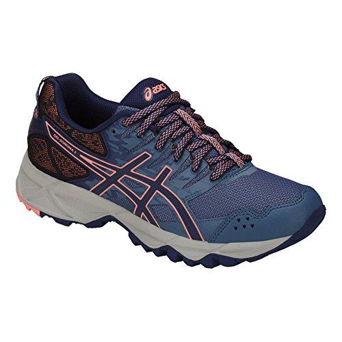 indigo Blue corail marine Running rose bleu Trail bleu Asics Shoes Women's 3 Gel Sonoma wOOq0P