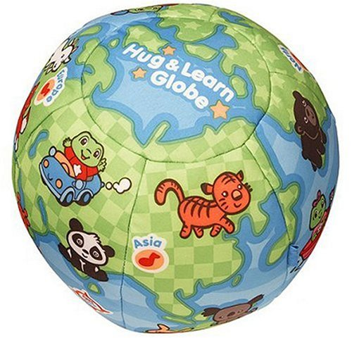 Hug and Learn Plush Globe
