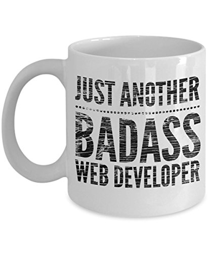 Just Another Badass Web Developer Mug - Cool Coffee Cup