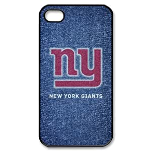 Unique Design New Style NFL 2013 New York Giants Team Logo IPhone 4 4S Hard Cover Case
