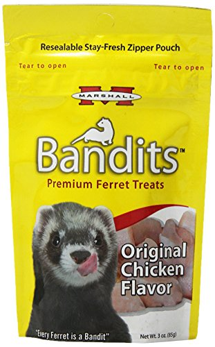 (Marshall Bandits Ferret Treat, 3-Ounce, Chicken)