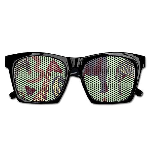 Elephant AN Themed Novelty Elephant Monkey Giraffes Zebra Fashionable Visual Mesh Sunglasses Fun Props Party Favors Gift - Oakley Sunglasses Zebra