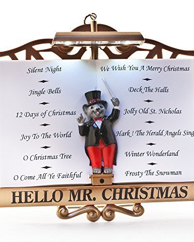Mr. Christmas Maestro Mouse Presents The Lights
