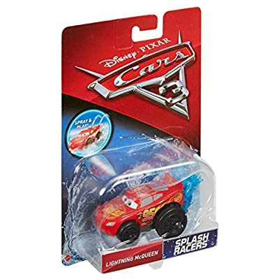 Disney Pixar Cars 3 Splash Racers Lightning McQueen Vehicle: Toys & Games