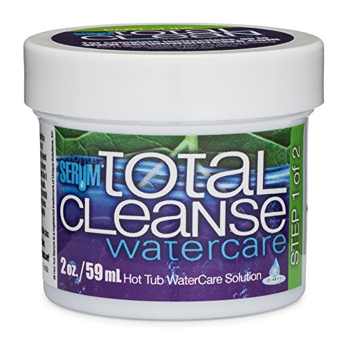 - Hot Tub Serum Total Cleanse Hot Tub and Spa Cleaner – 2 Ounces